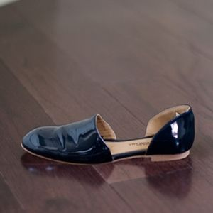 Emerson Fry Smoking Loafer Navy Patent 39